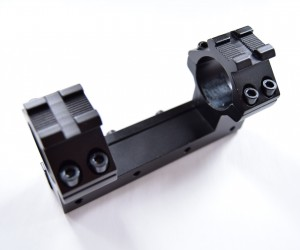 Кронштейн 25,4 мм монолит на «ласточкин хвост», с Weaver наверху, 10 см (BH-MS01)
