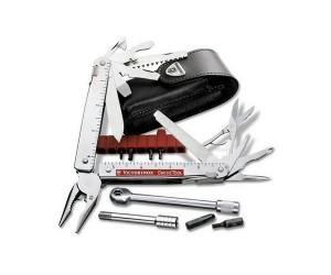 Мультитул Victorinox SwissTool Plus 3.0339.L (115 мм, 40 функций, кож. чехол)