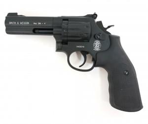 """Пневматический револьвер Umarex Smith & Wesson 586 4"""""""