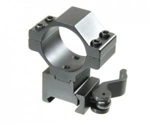 Кольцо 25/30 мм Veber 3021AH QD быстросъемное на Weaver