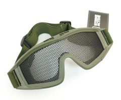 Очки-маска сетчатые GG0016 Olive Green