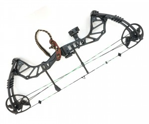 Блочный лук Man Kung MK-CBA5 Thorns (черный, PKG)