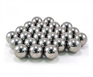 Шарики стальные для арбалета «Черный Питон» и рогаток, 8 мм (100 штук)