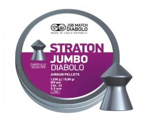 Пули JSB Straton Jumbo Diabolo 5,5 мм, 1,03 грамм, 500 штук