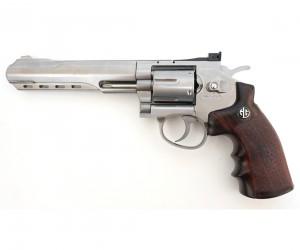 """Страйкбольный револьвер G&G G733 SV (6"""", Silver) (CO2-733-PST-SNB-NCM)"""