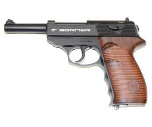 Пневматический пистолет Borner C41 (Walther P.38)