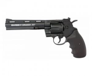 """Пневматический револьвер Swiss Arms 357-6"""" (Colt Python)"""