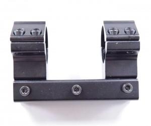 Кронштейн 25,4 мм монолит на «ласточкин хвост», высокий, 8 см (BH-MS04)