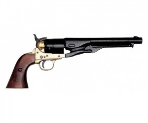 Макет револьвер Colt, латунь (США, 1860 г., Гражд. война) DE-1007-L