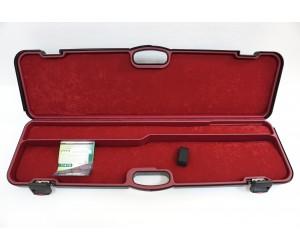 Кейс Negrini для полуавтоматов темно-зеленый, с отделениями, вельвет, код. замок, стволы до 940 мм