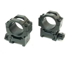 Кольца Leapers UTG 25,4 мм быстросъемные на Weaver, с винтовым зажимом, средние, 2 винта (RG2W1154)