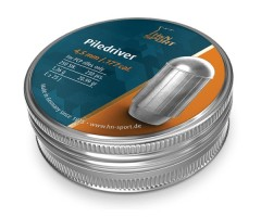 Пули H&N Piledriver 4,5 мм, 1,36 грамм, 250 штук