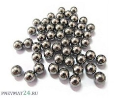 Шарики стальные 6 мм для арбалета-пистолета «Аспид» (100 штук)