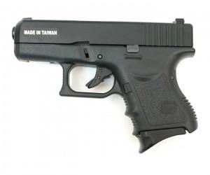 Страйкбольный пистолет KJW Glock G27 Gas, металл. затвор