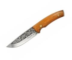 Нож туристический Кизляр М1-ЦМ (9102) с кожаным чехлом