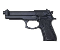 Пистолет тренировочный резиновый Beretta 92