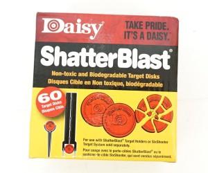 """Мишень тарелка 2"""" Daisy ShatterBlast (60 штук)"""