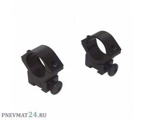 Крепление верхнее раздельное низкое ZOS 314 (D-25/10) «ласточкин хвост»