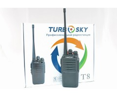 Радиостанция (рация) Turbosky T8