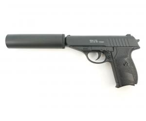 Страйкбольный пистолет Galaxy G.3A (PPS) с глушителем
