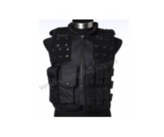 Полицейский жилет Black (VT117B)