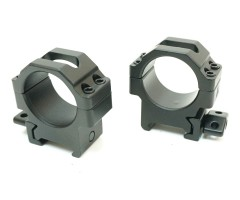 Кольца Leapers UTG 30 мм быстросъемные на Weaver, с винтовым зажимом, низкие (RG2W3104)