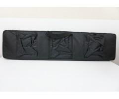Чехол мягкий с игольч. поролоном 120x30 см, черный, с карманами (BGC122)