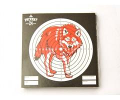 Мишени для пневматики «Волк», 50 штук