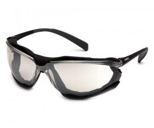 Очки стрелковые Pyramex Proximity SB9380ST, зеркально-серые линзы (Anti-Fog)