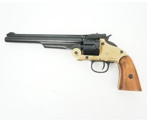 Макет револьвер Smith & Wesson Schofield, .45 калибра, латунь (США, 1869 г.) DE-1008-L