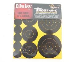 Мишени Daisy Shoot-N-C Self-Adhesive Targets (110 штук)