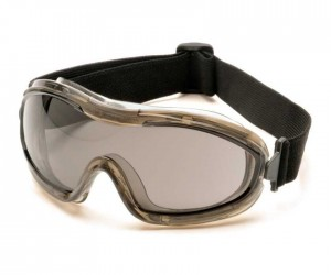 Очки-маска тактические Pyramex G724T, темно-серые линзы (Anti-Fog)