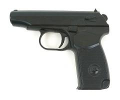 Пистолет тренировочный резиновый ПМ, черный