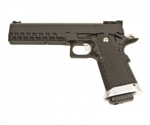 """Страйкбольный пистолет KJW Colt M1911 Hi-Capa 6"""" Gas (KP-06.GAS)"""