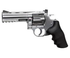 Пневматический револьвер ASG Dan Wesson 715-4 Silver (пулевой)