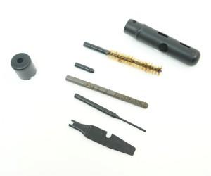 Набор для чистки и разборки оружия АКМ 7,62 мм, в метал. пенале