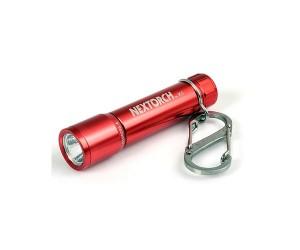 Фонарь-брелок NexTORCH К1 светодиодный красный, 40 люмен