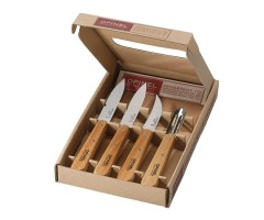 Набор кухонных ножей Opinel Les Essentiels №112/113/114/115 (4 штуки) рукоять - бук