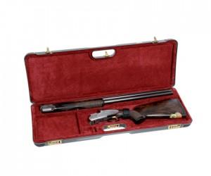 Кейс Negrini для гладкоствольного оружия, серия люкс, с отделениями