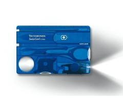 Швейцарская карта Victorinox SwissCard Lite 0.7322.T2 (синяя)