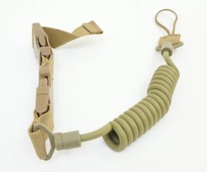Тренчик пистолетный Multi-functional Adjustable Tactical Pistol Sling Tan