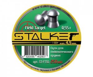 Пули Stalker Field Target 4,5 мм, 0,55 грамм, 250 штук