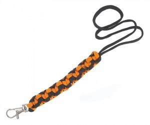 Темляк с карабином Geoline Survival Black&orange