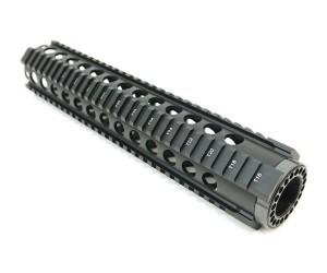 """Цевье T-Serie M4/AR15/M16, круглые отверстия, длина 12"""" / 305 мм (BH-MR39)"""