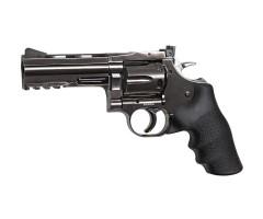 Пневматический револьвер ASG Dan Wesson 715-4 Steel Grey