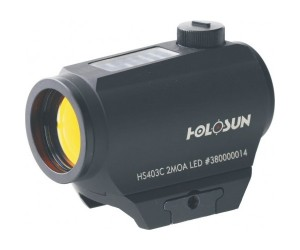 Коллиматорный прицел Holosun Paralow HS403C Solar Power Red Dot Sight
