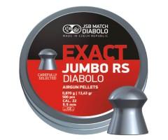 Пули JSB Exact Jumbo RS Diabolo 5,5 мм, 0,87 грамм, 500 штук