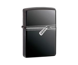 Зажигалка Zippo 21088 Zipped Black Ice