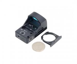 Коллиматорный прицел TS-XT4 mini, открытый, 10 ур., крепление Weaver в комплекте