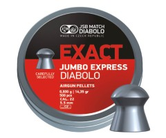 Пули JSB Exact Jumbo Express Diabolo 5,5 мм, 0,93 грамм, 500 штук